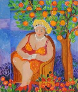 Under apelsintrÑdet 28x33